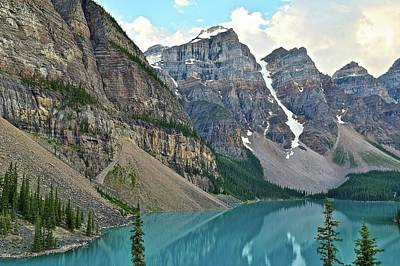Photograph - Canadian Rocky Mountain Range by Frozen in Time Fine Art Photography