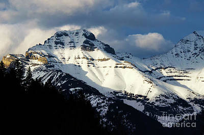 Photograph - Canadian Rocky Mountains 1 by Bob Christopher