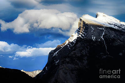 Photograph - Canadian Rocky Mountains 2 by Bob Christopher