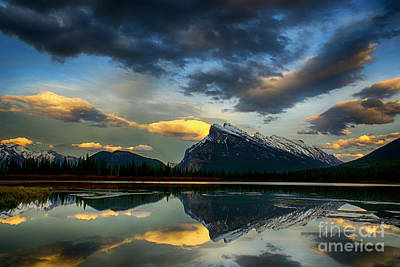 Photograph - Canadian Rocky Mountains 3 by Bob Christopher