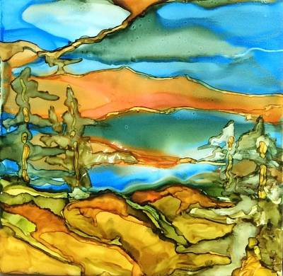 Painting - Canadian Shield by Pat Purdy