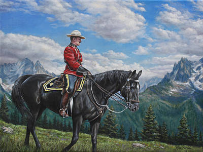 Painting - Canadian Majesty by Kim Lockman