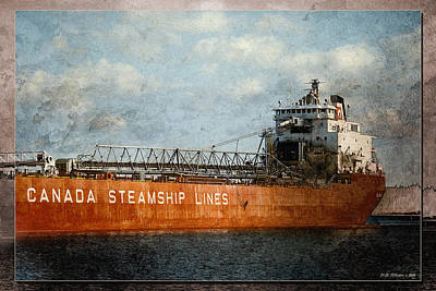 Photograph - Canada Steamship Lines by WB Johnston