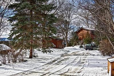 Photograph - Canadian Winter Scene by Tatiana Travelways