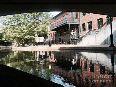 Photograph - Canal 1 by Nancy Dole McGuigan