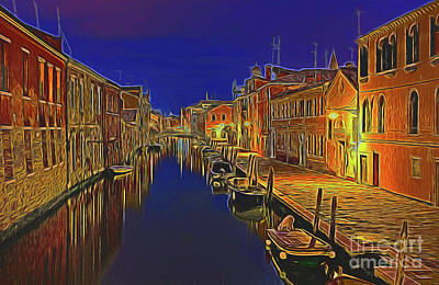 Photograph - Canal 15118 by Ray Shrewsberry