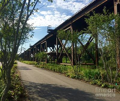 Photograph - Trestle Trio  by Nancy Dole McGuigan