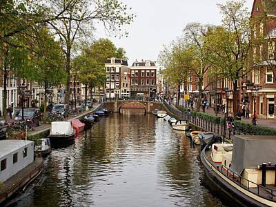 Photograph - Canal. Amsterdam by Jouko Lehto