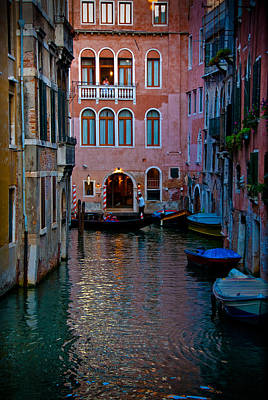 Photograph - Canal At Dusk by Harry Spitz