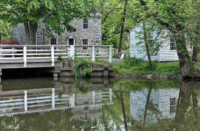 New Jersey Photograph - Canal At Griggstown by Steven Richman