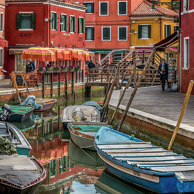 Photograph - Canal Burano Venice _dsc5593_03072017 by Greg Kluempers