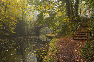 Canal Crossing Art Print