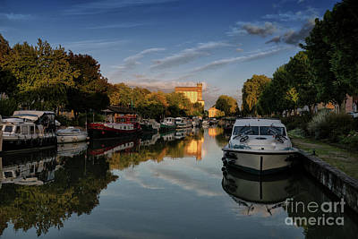 Photograph - Canal De Garonne France by Lynn Bolt