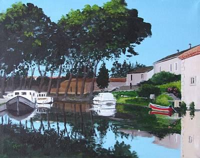 Canal Du Midi, Trebes Original