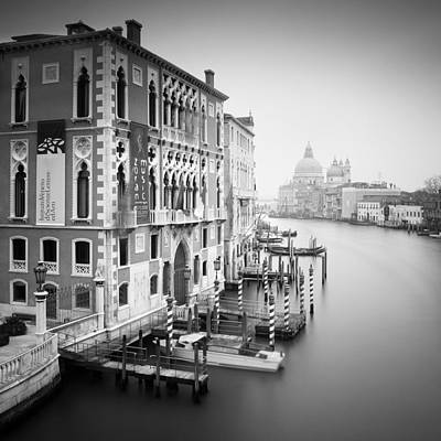San Marco Photograph - Canal Grande Study I by Nina Papiorek