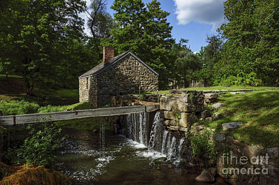 Photograph - Canal House At Waterloo Village by Debra Fedchin