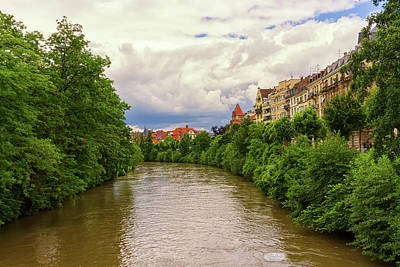 Photograph - Canal In Strasbourg, France by Elenarts - Elena Duvernay photo