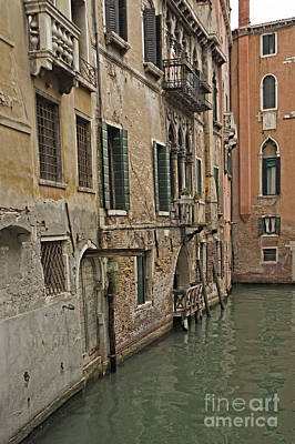 Photograph - Canal In Venice Italy by Loriannah Hespe