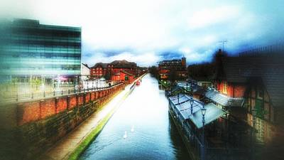 Photograph - Canal In Winter by Isabella F Abbie Shores FRSA
