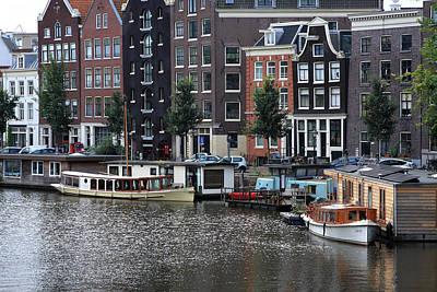 Photograph - Amsterdam River Scene  by Aidan Moran