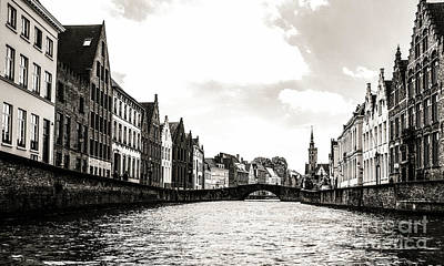 Photograph - Canal Life by Lexa Harpell