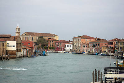Photograph - Canal Of Murano by Prints of Italy