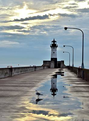 Photograph - Canal Park Pier by Susie Loechler