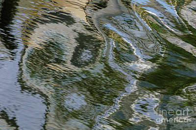 Photograph - Canal Ripples 2 by Werner Padarin