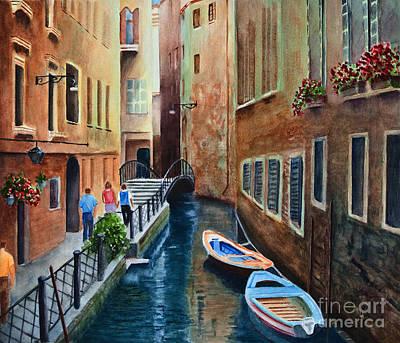 Canal St. Art Print
