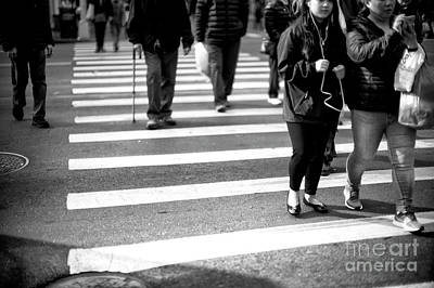 Photograph - Canal Street Crossing by John Rizzuto
