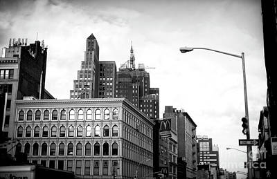 Photograph - Canal Street Dimensions by John Rizzuto