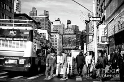 Photograph - Canal Street by John Rizzuto