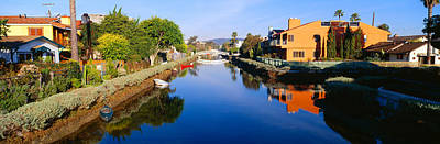 Quaint Photograph - Canal, Venice, California by Panoramic Images