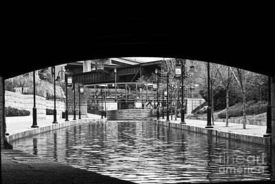 Richmond Virginia Photograph - Canal Walk Tunnel by Tim Wilson