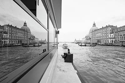Photograph - Canale Riflesso by Marco Missiaja