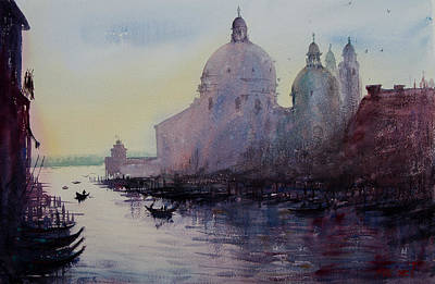 Painting - Canali Di Venezia by Lior Ohayon