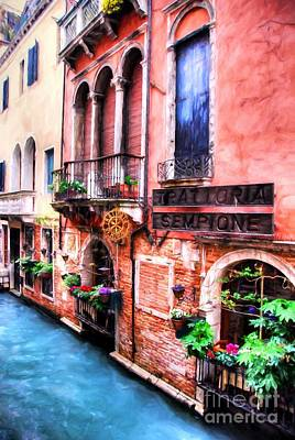 Photograph - Canals Of Venice # 4 by Mel Steinhauer