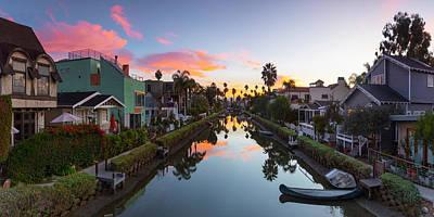 Venice Beach Photograph - Canals Of Venice Beach by Sean Davey