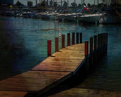 Digital Art - Canalside by Richard Ricci