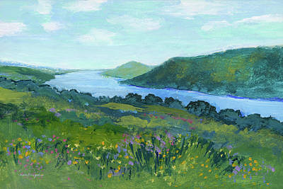 Painting - Canandaigua Lake II by J Reifsnyder
