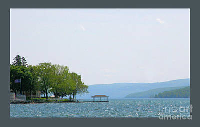 Photograph - Canandaigua Lake-ii by Patricia Overmoyer