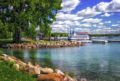 Photograph - Canandaigua Lakefront by Carolyn Derstine