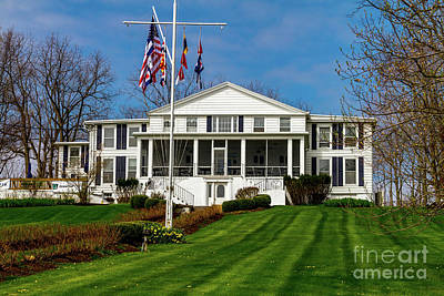 Photograph - Canandaigua Yacht Club by William Norton