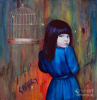 Canary Art Print by Suzanne Buttle