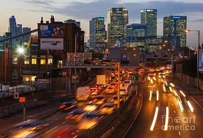 London Congestion Photograph - Canary Wharf 11 by Marcin Rogozinski