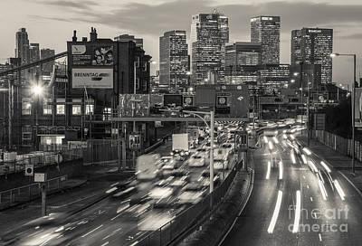 London Congestion Photograph - Canary Wharf 21 by Marcin Rogozinski