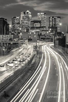 London Congestion Photograph - Canary Wharf 22 by Marcin Rogozinski