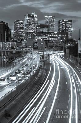 London Congestion Photograph - Canary Wharf 23 by Marcin Rogozinski