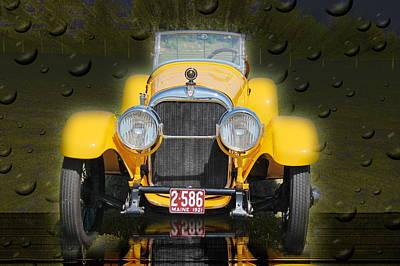 Photograph - Canary Yellow by Mustafa Abdullah