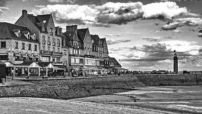 Photograph - Cancale Boardwalk by Elf Evans